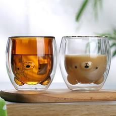 cute, Coffee, Cup, Glass