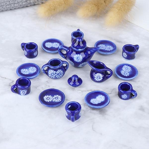 112miniature, Blues, Kitchen & Dining, miniaturekitchenware