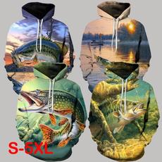 Fashion, pullover hoodie, Animal, Long Sleeve