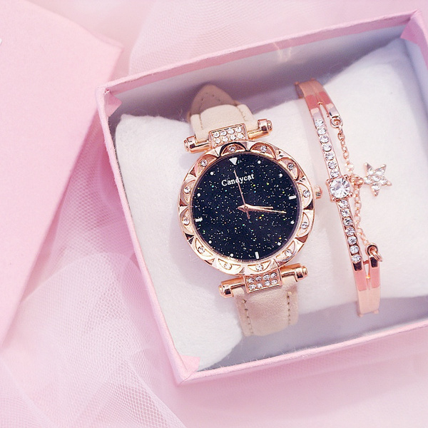 Fashion Watches Women, Fashion, Watch, leatherbraceletwatch