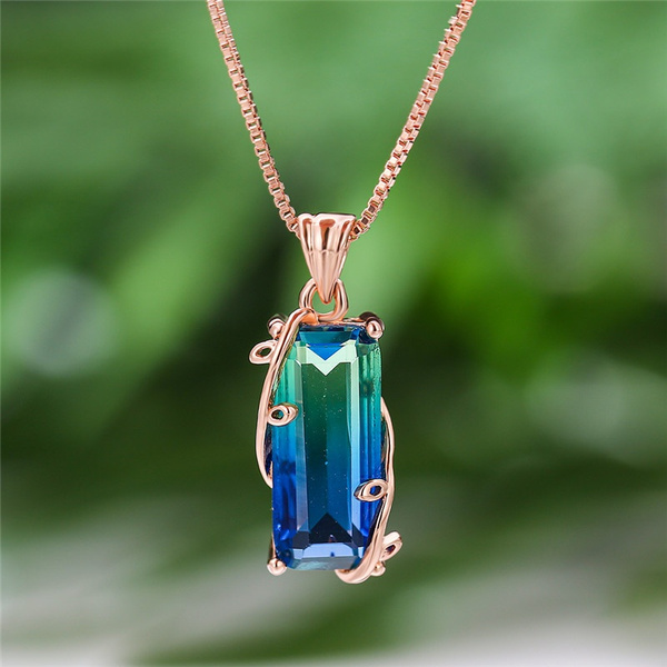 Blues, Fashion, gemstonenecklace, gold