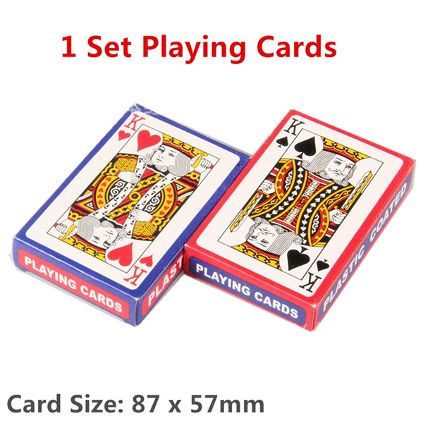 Plastic, Poker, tablegame, Waterproof