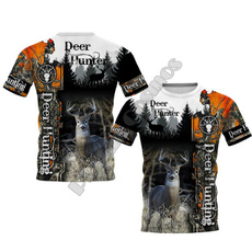 Summer, Мода, Shirt, Полювання