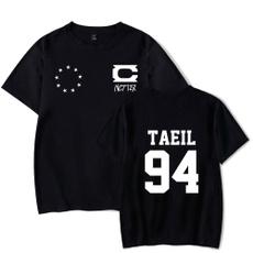 Summer, nct127, Cotton T Shirt, Sleeve