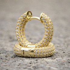 DIAMOND, gold, 14k Gold, Earring