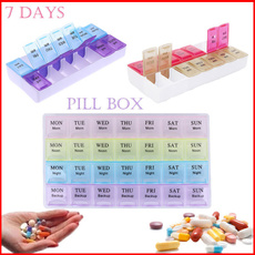 Box, case, vitaminbox, portable