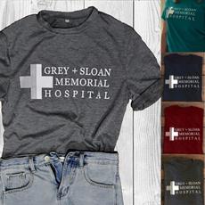 Plus Size, meredithgrey, letter print, greysanatomyshirt