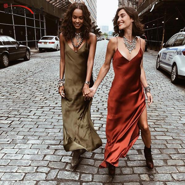 Women's Fashion, sleeveless, Necks, Spaghetti
