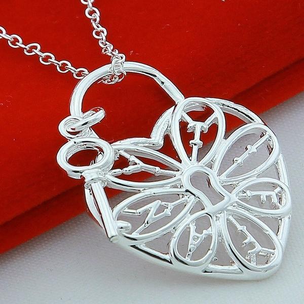 Heart, Fashion, heartshapedkeynecklace, Jewelry