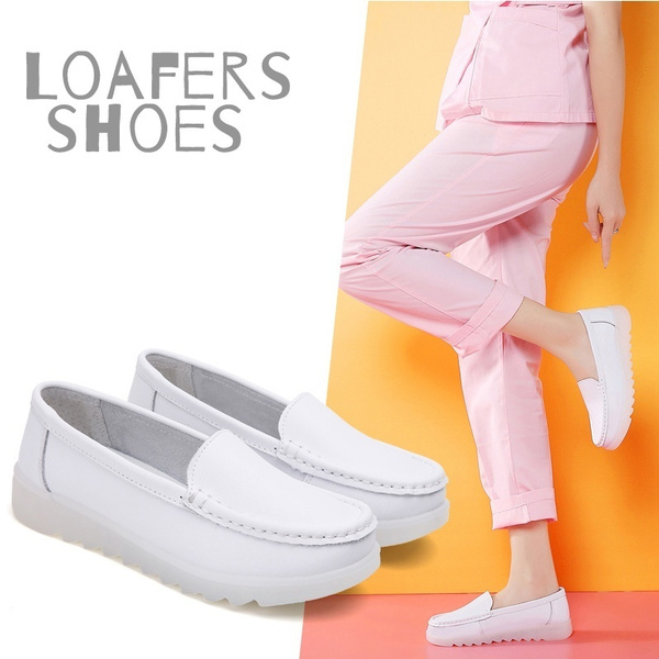 whiteshoeswomen, zapatosdeenfermera, Simple, casual shoes for women