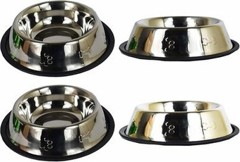 Steel, Set, Stainless, Pets