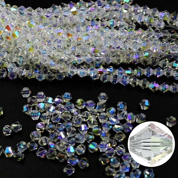 biconecrystalloosebead, crystalbead, Crystal, coloroptional