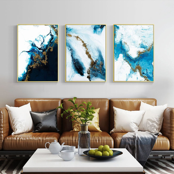 Copper, blueandgold, Wall Art, Home Decor