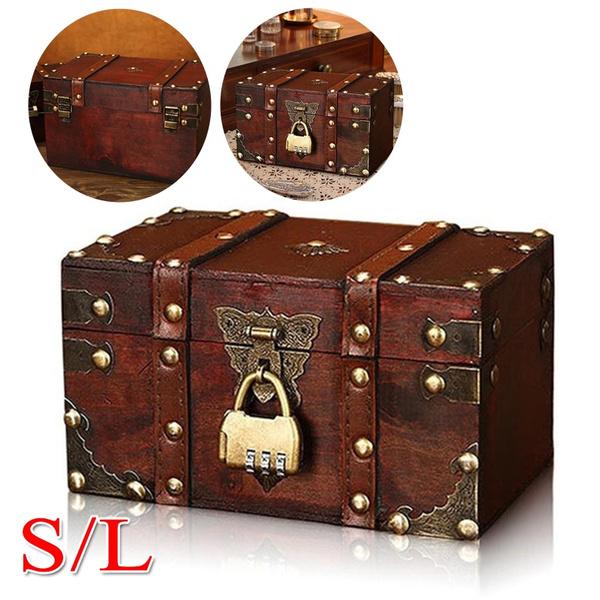 case, Storage Box, Decor, piratetreasurechest