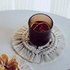 Decor, Coasters, handwoven, Cup