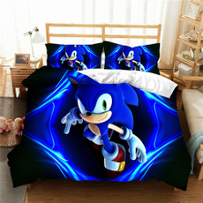 animebeddingset, sonic, Home Decor, Home & Living