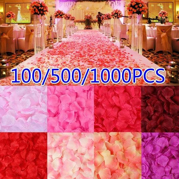 silk, diywreath, fakerosepetal, Wedding Supplies