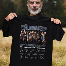 Mens T Shirt, thewalkingdeadshirt, cottontee, Summer