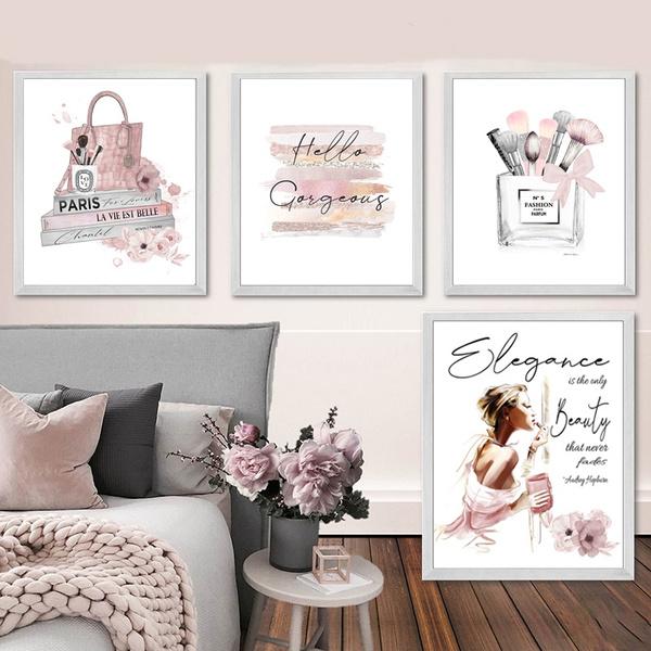 pink, Decor, Fashion, art