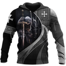 3D hoodies, Fashion, Sleeve, Casual Jackets