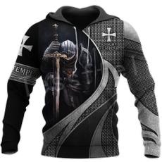 3D hoodies, Fashion, Sleeve, Casual Jackets