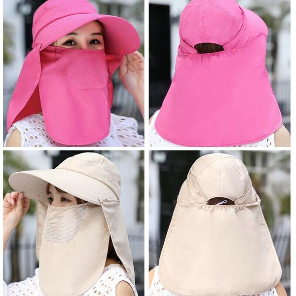 Women, Fashion, visorhat, Necks