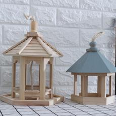 woodenbirdcage, woodenbirdfeeder, Garden, birdfeederoutdoor
