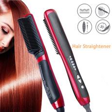straighteningbrush, hair straightener professional, Electric, Straight Hair