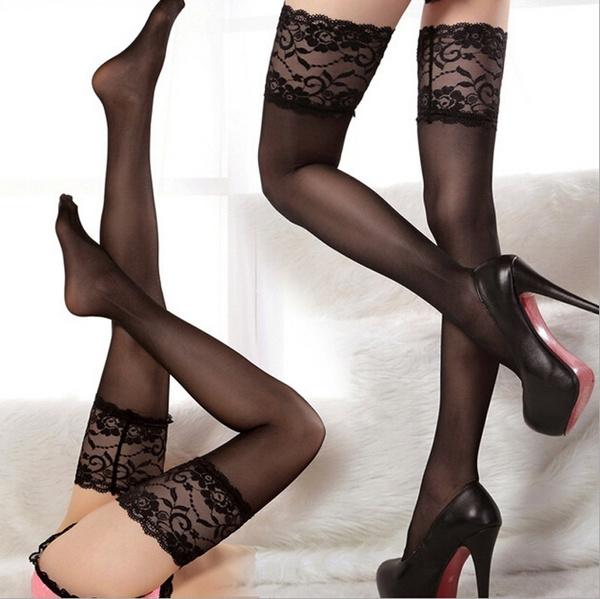 Leggings, overkneehighsock, Lace, girlstocking