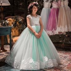gowns, girls dress, Princess, Dress