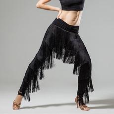 womendancewear, latintrouser, tasseldancewear, pants