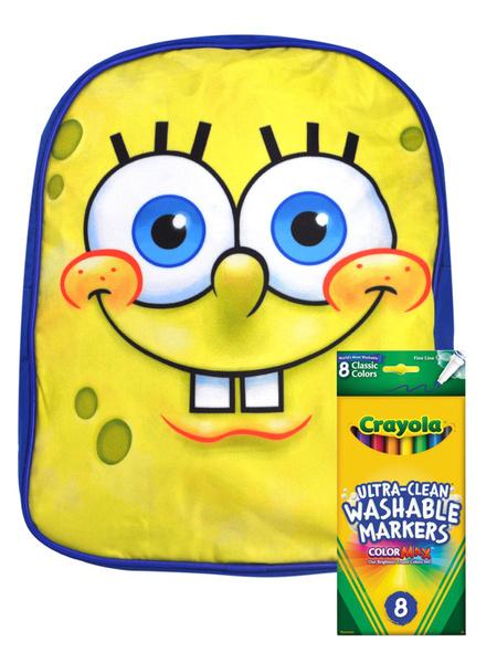 Boy, 12, Sponge Bob, Backpacks