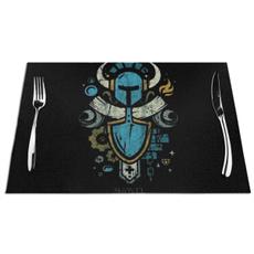 tablemat, art, shovelknightamiiboui, Home & Living