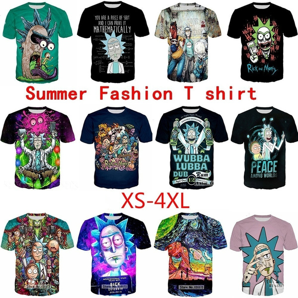 Summer, morty, Fashion, Shirt