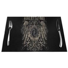 tablemat, halestormthewildliferussianeagle, art, Coffee