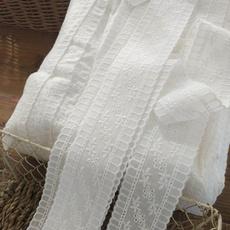 cottonlacetrimribbon, Lace, flowerlacetrim, embroiderylaceribbon