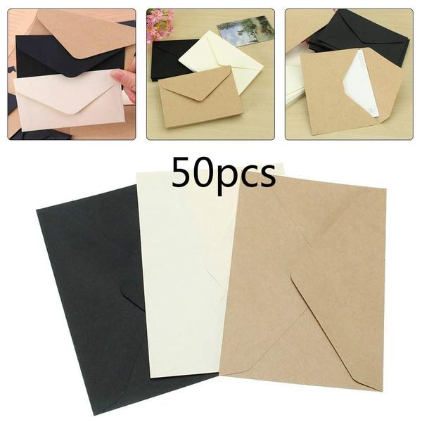 Gift Card, mailenvelope, Gifts, blackwhitekraftpaperenvelope