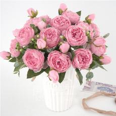 pink, decoration, Head, Flowers