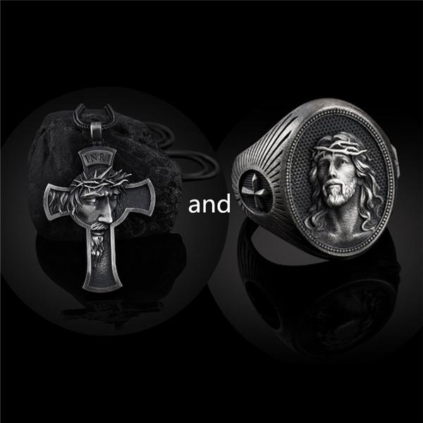religiouspendant, stainlesssteelaccessorie, Christian, Cross Pendant