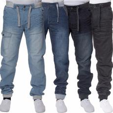 men's jeans, Casual pants, pants, Denim