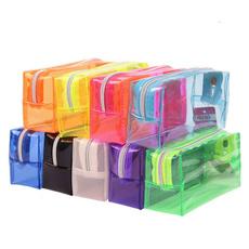 Kawaii, pencilcase, pencilbag, transparentwashbag