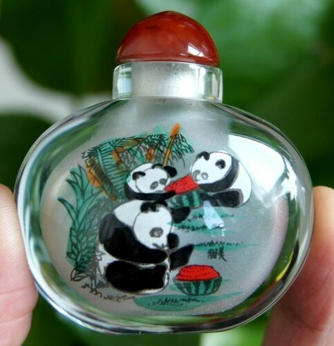 Collectibles, Bottle, Chinese, painted