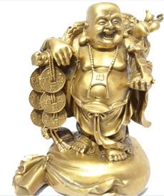 Copper, buddhastatue, maitreya, Jewelry