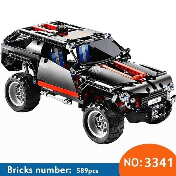 building, carmodel, Toy, decool