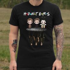 supernaturalcartoon, Fashion, Cotton, Cotton T Shirt