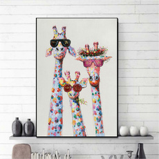 Pictures, Wall Art, Family, Colorful