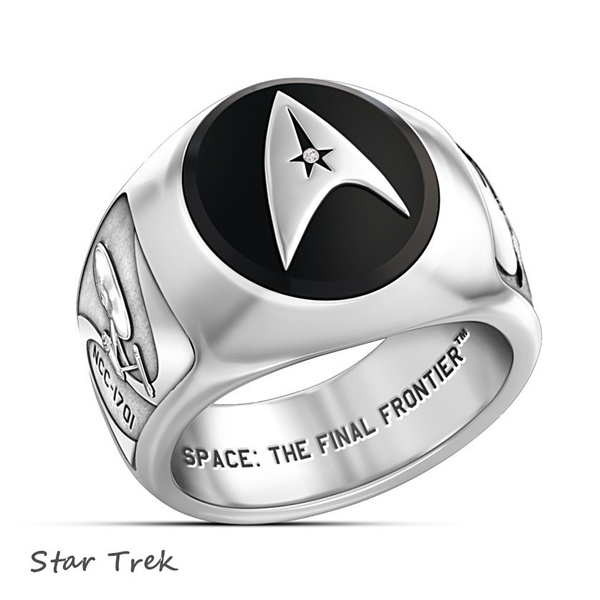Sterling, punk rings, Star, Jewelry