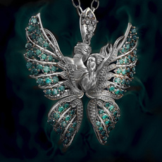 wingnecklace, angelnecklace, Fashion, Love