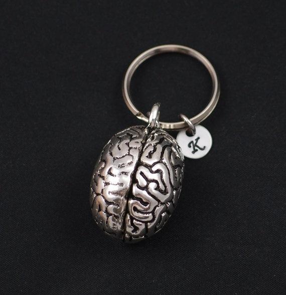 Key Chain, Gifts, initialkeychain, punkkeychain