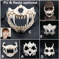 Funny, maskscosplay, dragongodmask, skull